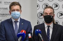 Vít Rakušan a Ivan Bartoš
