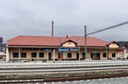 Zrekonstruované nádraží ve Šternberku
