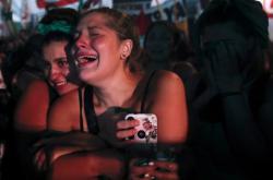 Argentinské ativistky oslavují legalizaci interrupcí