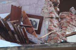 Škody po zemětřesení v Chorvatsku