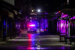 Bosenská policie zasahuje v ulicích během oslav Nového roku
