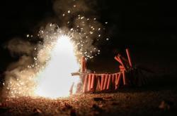 Zábavná pyrotechnika (ilustrační foto)