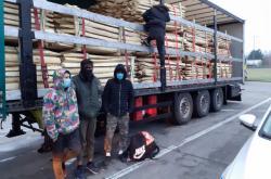 Zadržení běženci