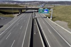 Prázdná dálnice
