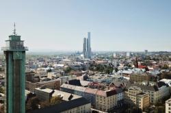 Vizualizace mrakodrapu v Ostravě