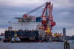 Ruské stavební plavidlo Fortuna