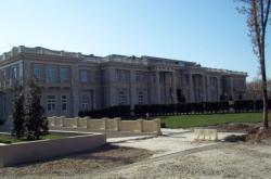 Rozestavěný Putinův palác (foto pochází z roku 2011)