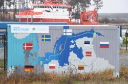 Stavba plynovodu Nord Stream 2 v Meklenbursku-Předním Pomořansku