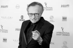 Larry King v roce 2017