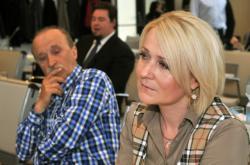 Jiří Paluska a Jana Čechová (oba ODS), která ho nahradila ve funkci starosty