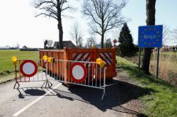 Kontejner blokuje belgickou hranici