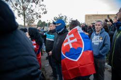 Demonstrace proti covidovým opatřením v Bratislavě
