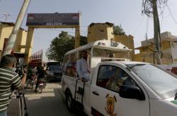 Převoz Pearlova vraha z vězení v Karáčí