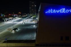 Opravený přednádražní prostor v Havířově