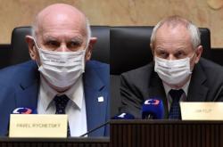 Ústavní soudci Pavel Rychetský a Jan Filip