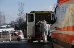 Převoz pacienta z chebské nemocnice