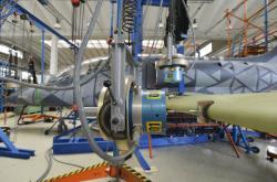 Testování prototypu letounu L-39 NG v Odoleně Vodě