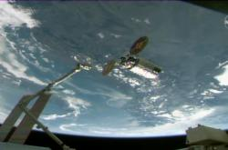 Cygnus před ISS