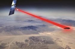Vizualizace přenosu energie z kosmu na Zemi