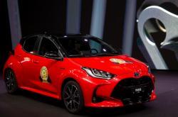 Vítězný vůz Toyota Yaris