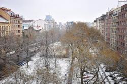 Zasněžená ulice