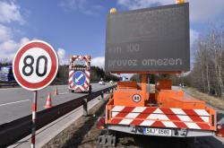 Omezení dopravy na D1