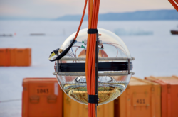 Příprava teleskopu Bajkal-GVD