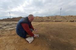 Nálezy archeologů na staveništi D55