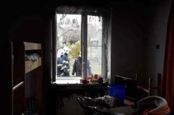 Požár v azylovém domě v Hranicích