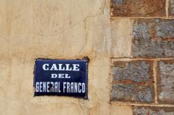 Ulice pojmenovaná po generálu Francovi