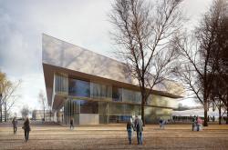 Vizualizace a rekonstrukce pavilonu Z v areálu výstaviště v Českých Budějovicích