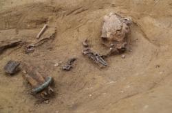 Hrob keltské ženy