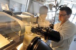 Laboratoř Centra polymerních materiálů ve Zlíně
