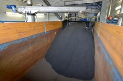 Sušárna kalů z čističky odpadních vod