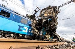 Nehoda vlaků u Světce na Teplicku