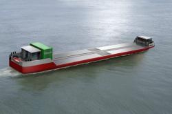 Nákladní loď poháněná vodíkem