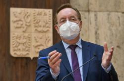 Ministr zdravotnictví Petr Arenberger
