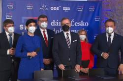 Koalici Spolu tvoří parlamentní ODS, TOP 09 a KDU-ČSL