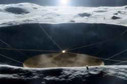 Představa měsíčního dalekohledu