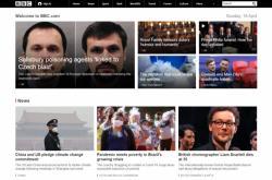 Událost z ČR jako hlavní zpráva BBC
