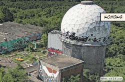 Nevědomí východních Němců připomíná komplex Teufelsberg