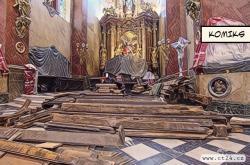 Mobiliář kostela sv. Michala čeká oprava