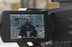 Zpravodaj polské veřejnoprávní televize vRusku TomaszDawidJędruchów