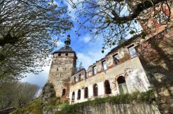 Záchrana hradu Hartenberg v Hřebenech na Sokolovsku