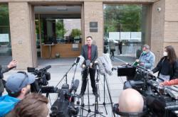 Tiskový brífink drážďanské prokuratury o krádeži šperků