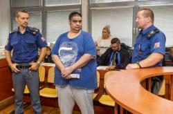 Július Rigo před soudem