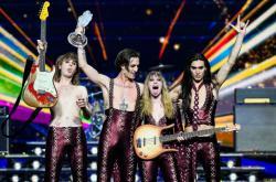Vítězové Eurovize Maneskin