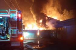 Požár v Napejedlech