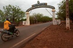 Armádní základna, kde jsou drženi malijští politici