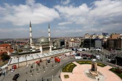 Otevření mešity na Taksimu